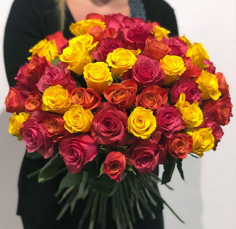 Luxus Blumenstrauß aus Ecuador Rosen