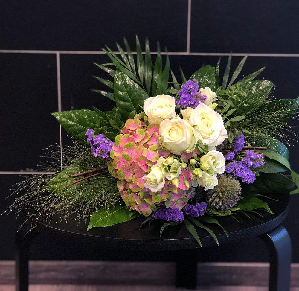Blumenstrauß mit Hortensienblüte