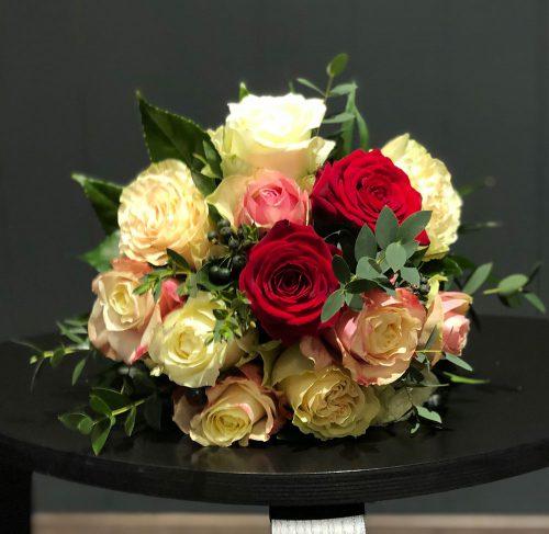 Blumenstrauß, um echte Gefühle zu zeigen.