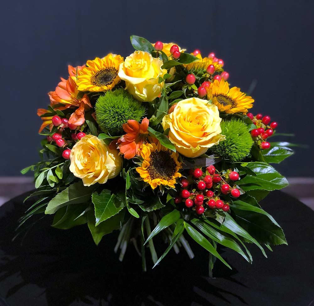 Blumenstrauß Herbstsonnenbote