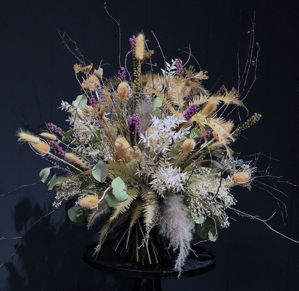 Trockenblumen Bouquet Masterpiece