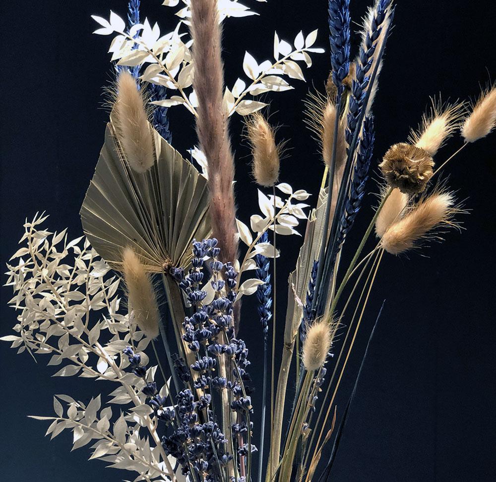 Trockenblumen Stiele Lavendula