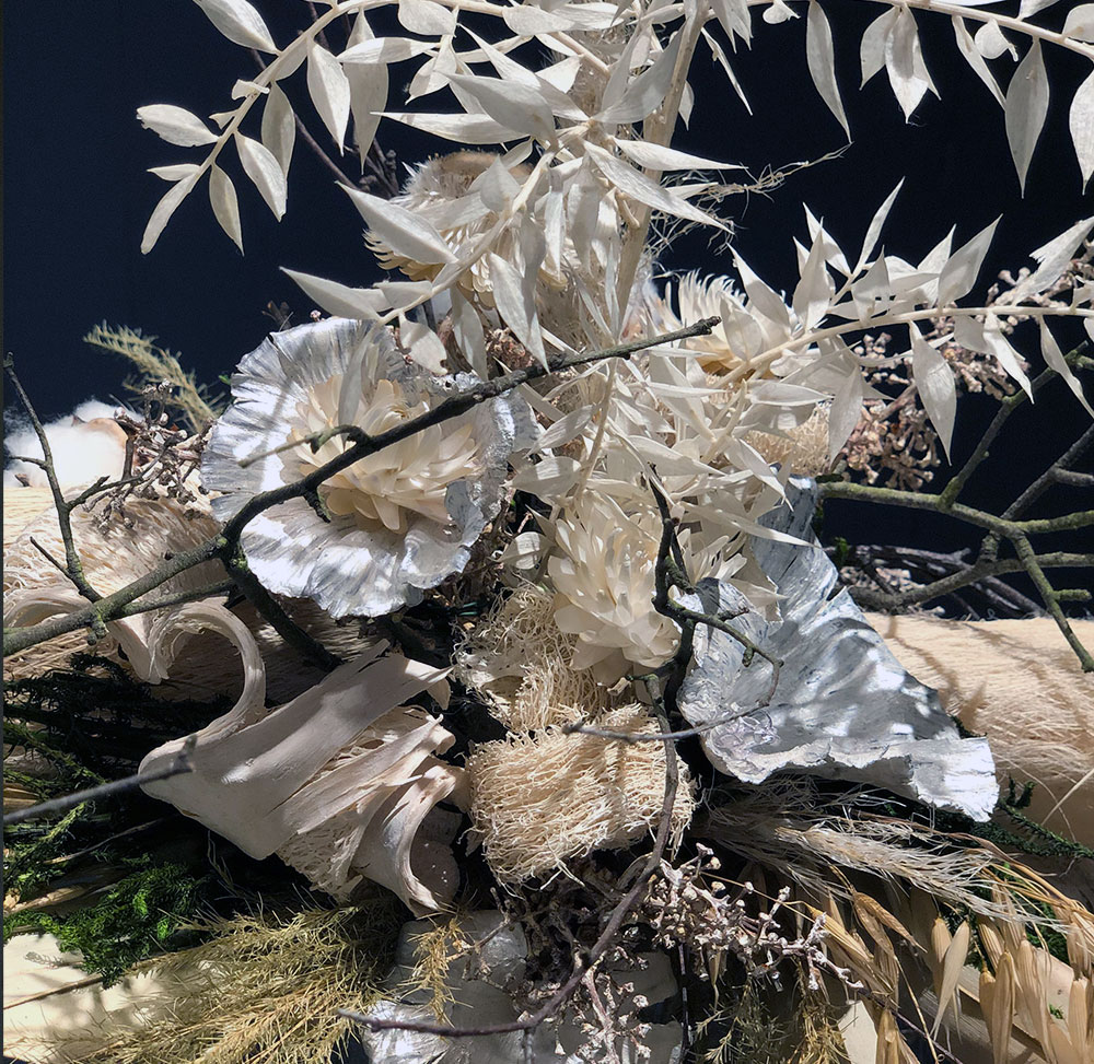 Trockenblumenstrauß Detail