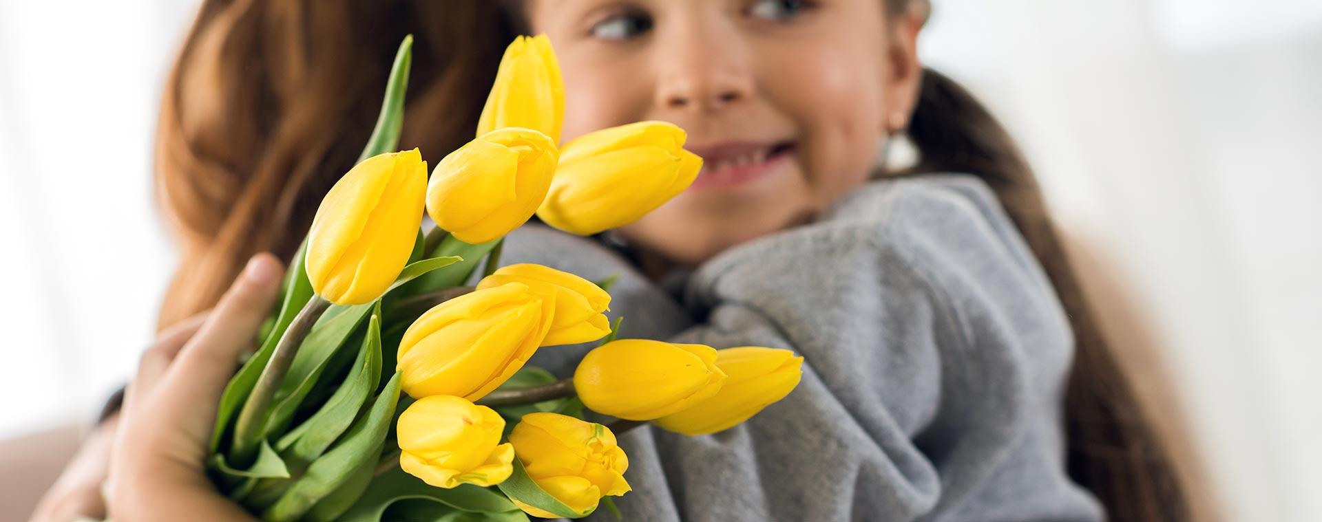 Muttertagsblumen versenden mit Wilp24.com